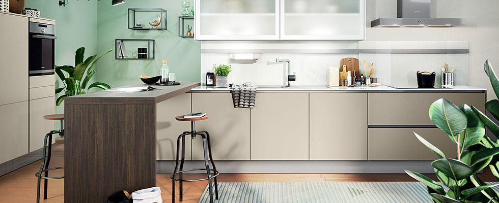 Häcker Küche Laser Soft Kaschmir