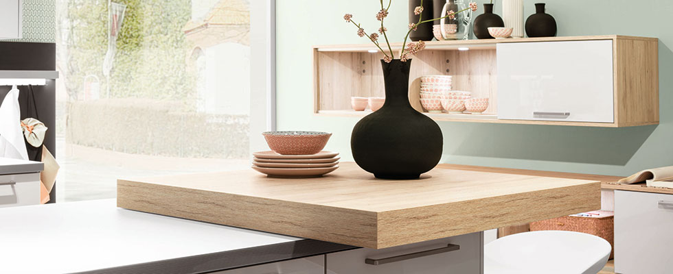 Küchenwelt Ebner Spuller Häcker Pultplatte