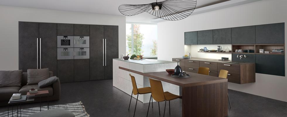 Leicht Küche TOPOS | CONCRETE