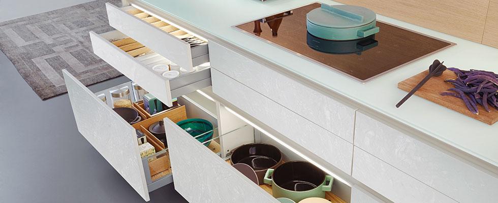 Leicht Küche Modern Style Concrete