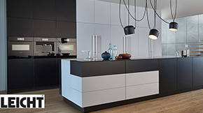 leicht k chen. Black Bedroom Furniture Sets. Home Design Ideas