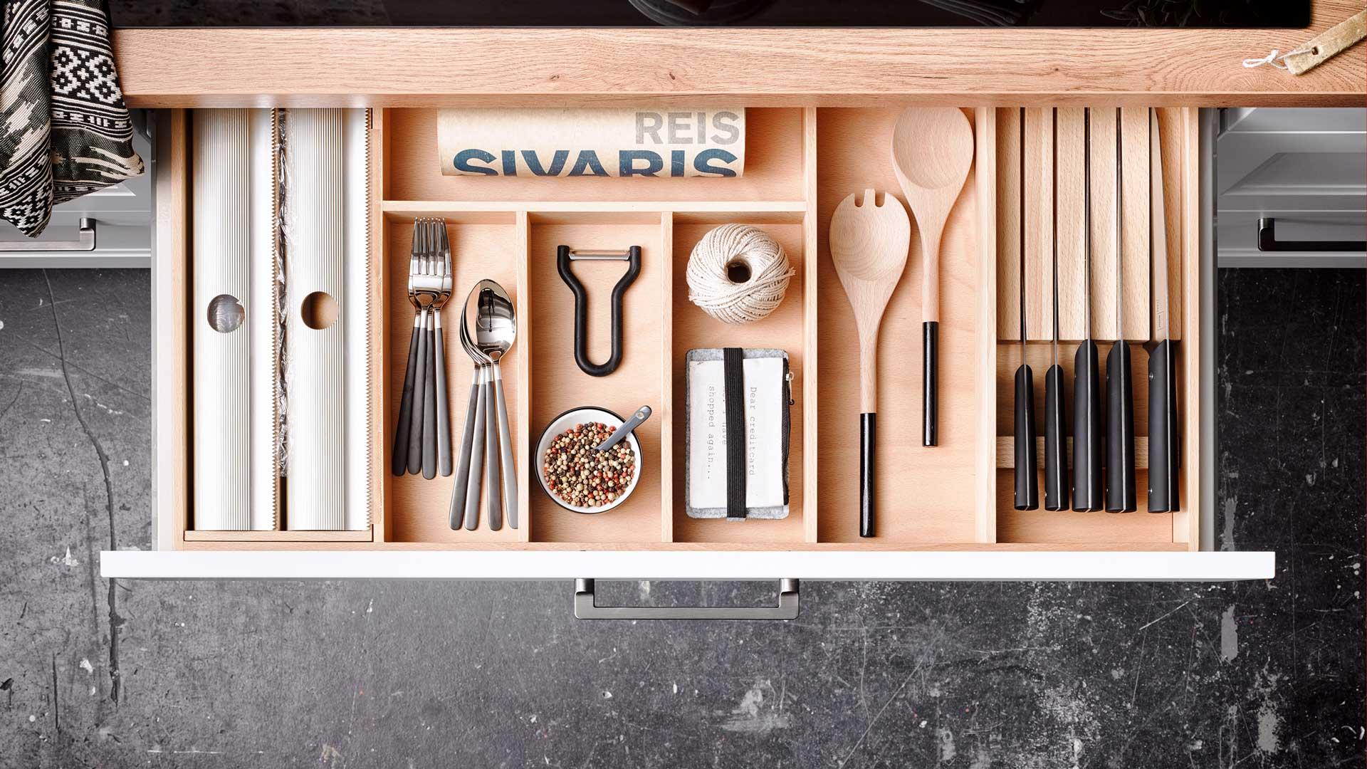 Küchenausstattung im Küchenstudio Miele Center Ebner & Spuller in Graz