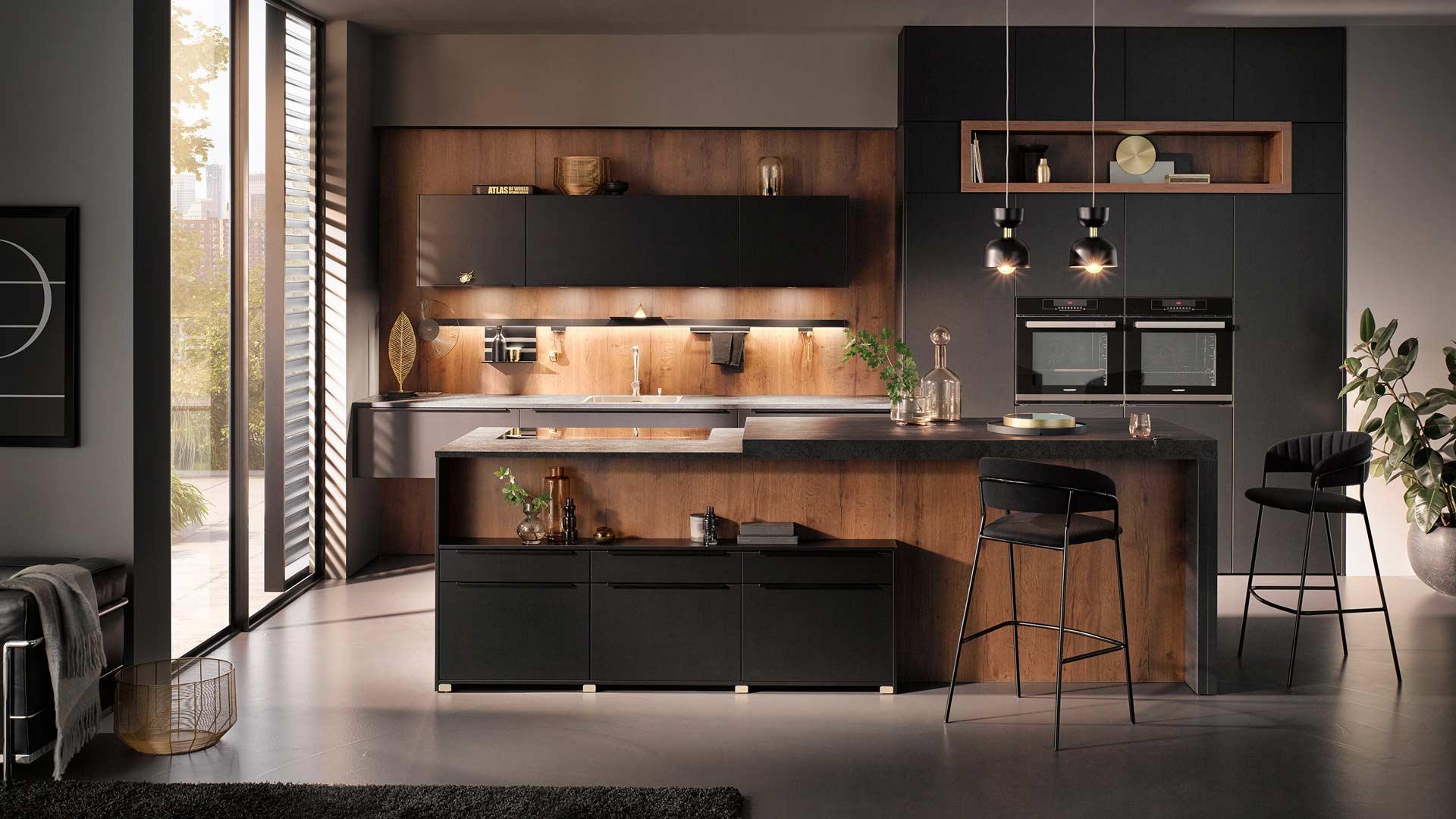 Küchentrends 2020 Häcker Mattlack im Miele Center Pellet