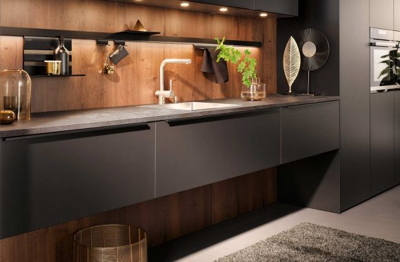 Küchentrends 2020 Häcker Mattlack im Miele Center Ebner & Spuller