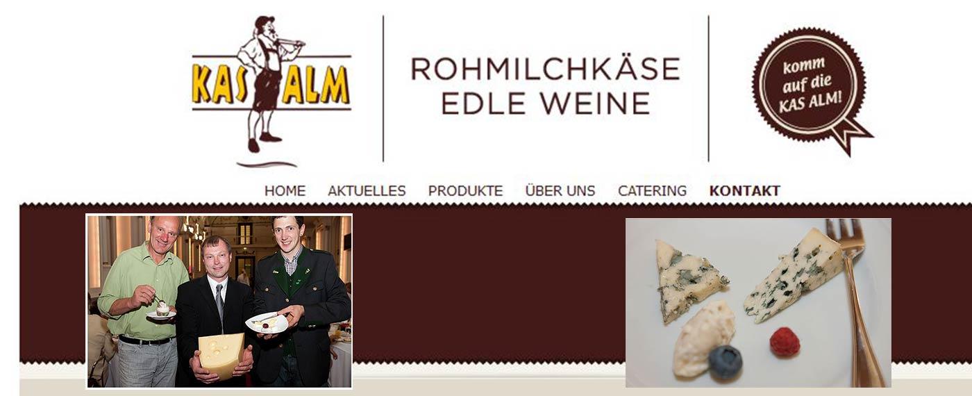 Käsebegleitung aus dem Hause KASALM: Firma Koschuch!