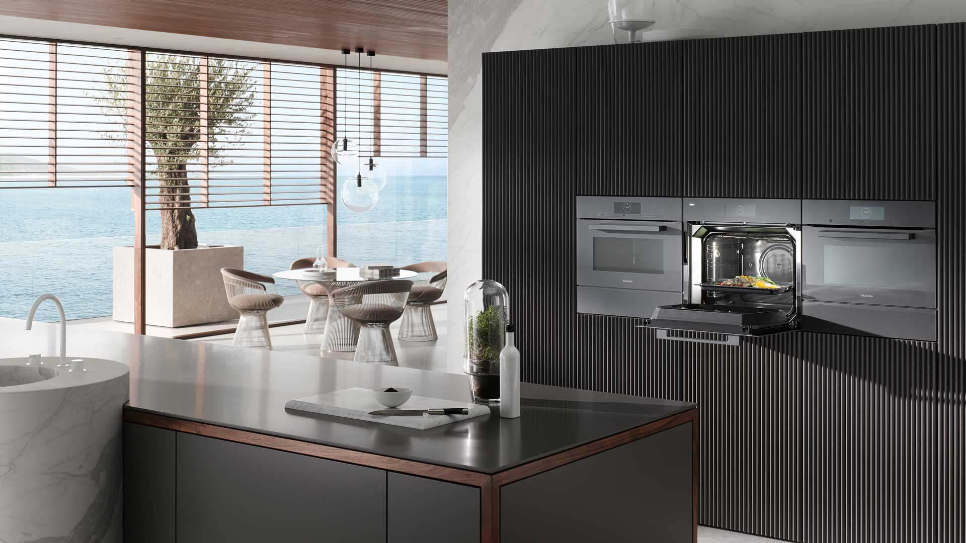 Miele Hausgeräte mit Top-Funktionen in der Küchenwelt Miele Center Ebner & Spuller in Graz
