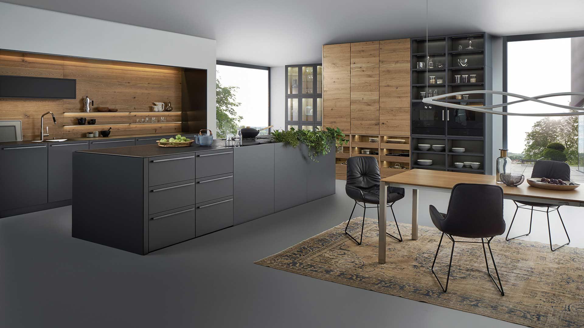 Leicht Designküche in Graz bei Küchenwelt Ebner & Spuller