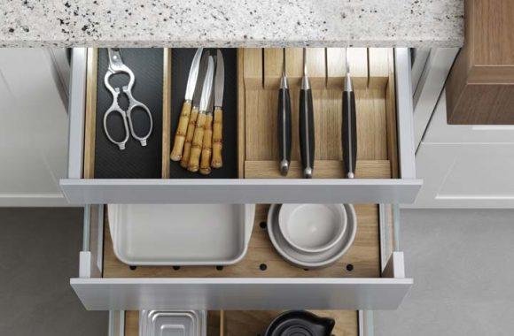 Leicht Ausstattung Küchenlade Miele Center Ebner und Spuller Graz